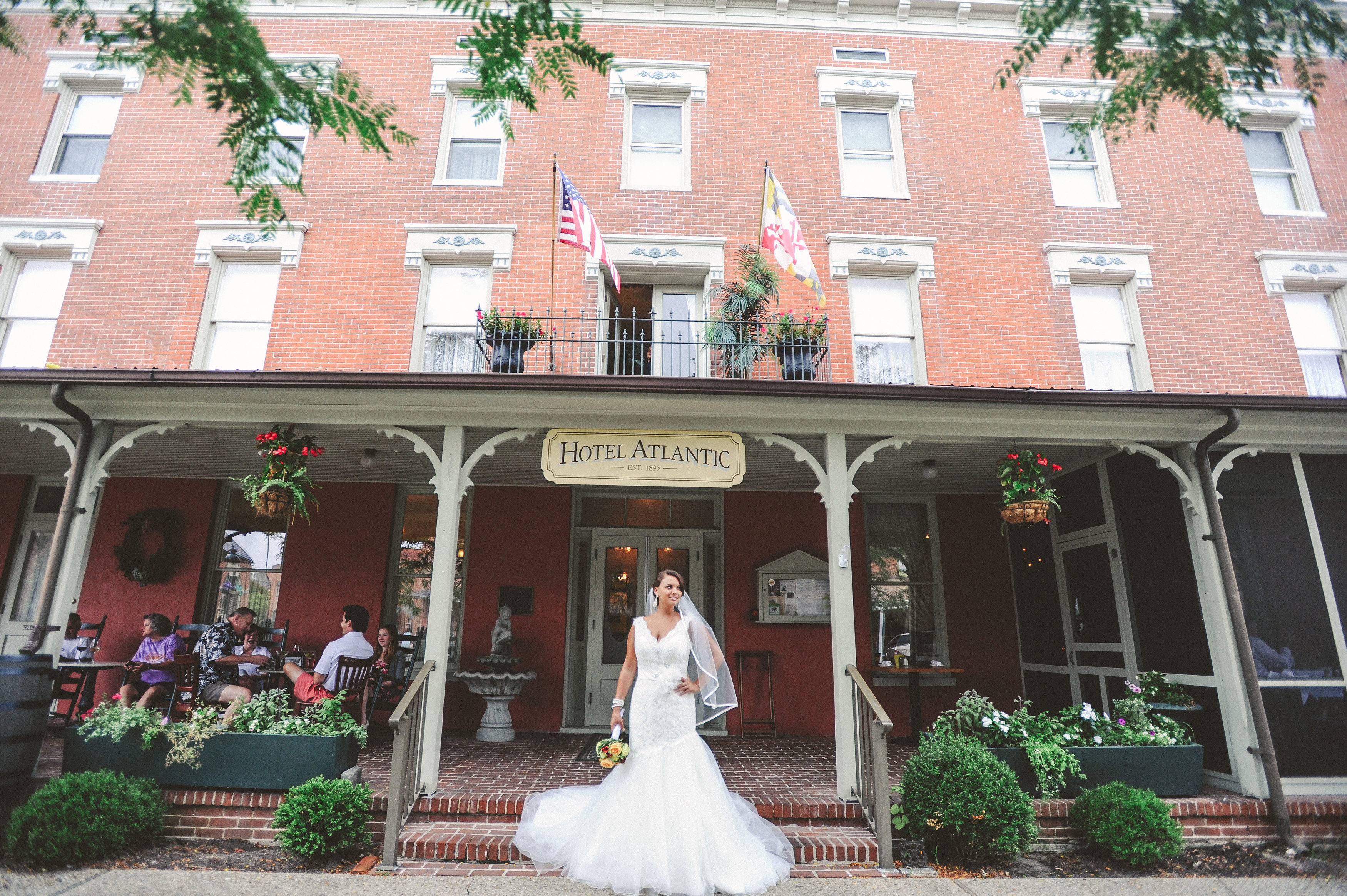 Weddings Main The Atlantic Hotel Historic Berlin Md