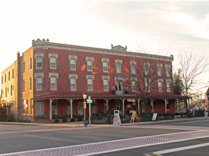 Main Street and Atlantic Hotel Berlin MD