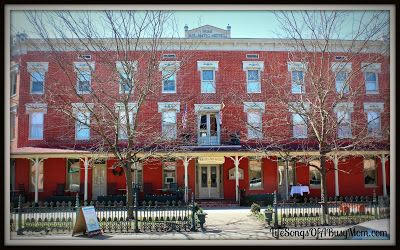 Historic Brick Hotel on Main Street in Berlin Maryland